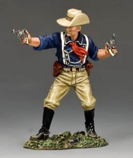 Lt. Col. George Armstrong Custer   The Real West   King & Country TRW020