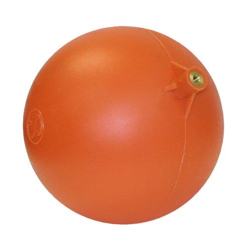 """Valterra 610-8 Polyethylene Float Ball for Float Valve, Orange, 8"""" x 1/4"""""""