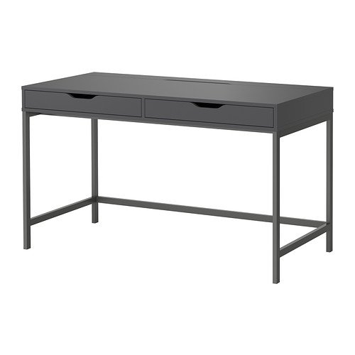 Ikea Alex – Escritorio, Gris – 131 x 60 cm: Amazon.es: Hogar