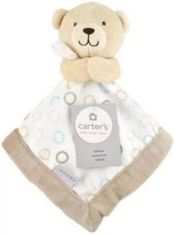 Personalized Lovey Mini Baby Blanket Baby Shower Gift. Security Blanket Aqua Cloud Moons Faux Fur Lovey Minky Lovie Dream Lovie