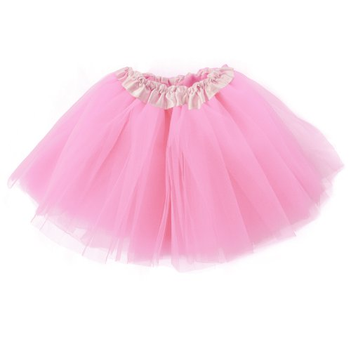 Women's Classic 3-layered Tulle Tutu Ballet Skirts Ruffle Pettiskirt for Customes Cosplay Dress up]()