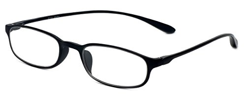 Calabria Reading Glasses - 718 Flexie in Ebony