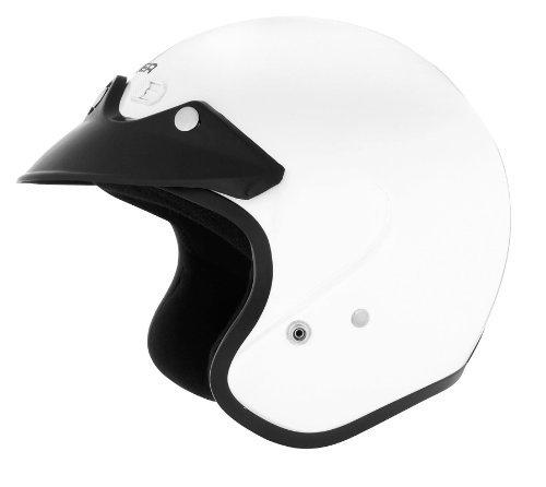 Cyber Helmets U-6 Solid Helmet , Size: Md, Primary Color: White, Distinct Name: White, Helmet Category: Street, Helmet Type: Open-face Helmets, Gender: Mens/Unisex 641252