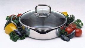 Norpro KRONA 4 Quart Everyday Pan with Straining Lid