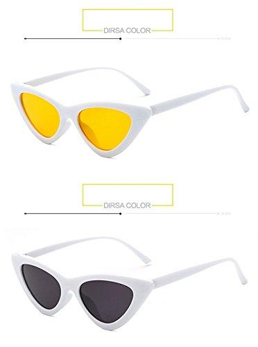 Eye Lentille Vintage Cat Couleurs Plastique Coloré Lunettes Voyage Plage 11 Sunglasses Soleil De TqxRXqfwH