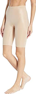 SPANX Womens Power Conceal-Her High Waisted Tummy Control Extended Length Shorts