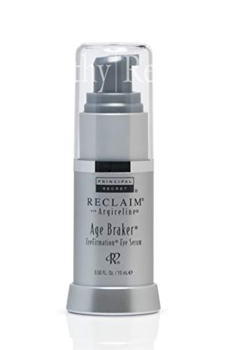 Principal Secret Reclaim with Argireline Age Braker EyeFirmation Eye Serum Aloe Shea Butter Infused 90 Day Supply 0.5 Ounce