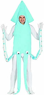 Amakando Vestimenta llamativa de Kraken Disfraz de Calamar L ...