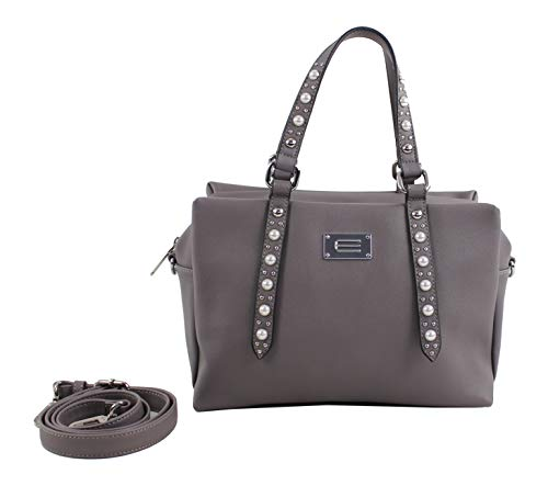 Eferri gris X L Cm w 20x15x28 Gris Mano Bolso De H Bari Mujer rqx4nOr7HS