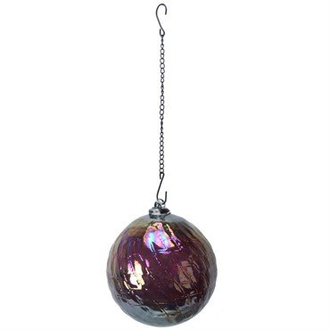 Very Cool Stuff VCSGHBRNB8 8 in. Hanging Rainbow Glass Ball with Chain