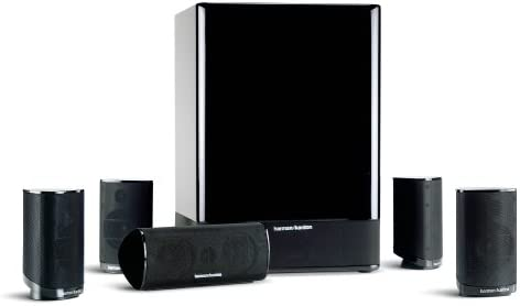 Harman Kardon HKTS-15 5.1 Excessive-Efficiency, 6-Piece House Theater Speaker System (Black Gloss) (Discontinued by Producer)