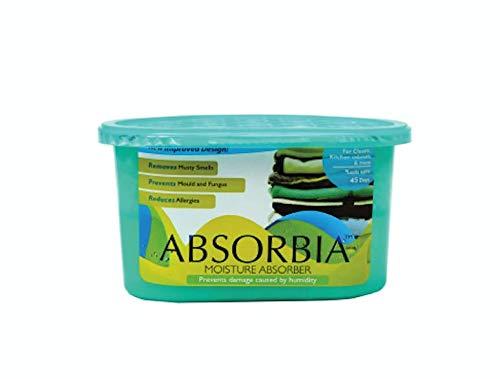 ABSORBIA Moisture Absorber Petite 200 ML For Kitchen/Bathroom/Bedroom/Dining Room/Living Room, Petite Pack