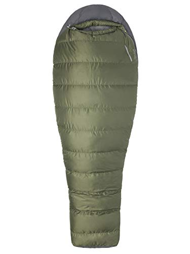 Marmot Ironwood 30 Mummy Lightweight Sleeping Bag, 30-Degree Rating, Bomber Green Steel Onyx