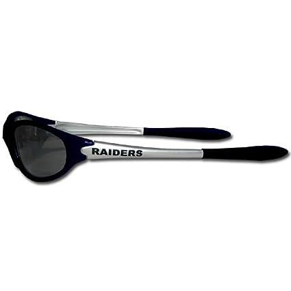 NFL Oakland Raiders Sleek Wrap Sunglasses D1UUIKG