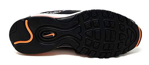 97 Max Air Black Total Running Black 001 Uomo White NIKE Scarpe Orange Multicolore EOqxWE61