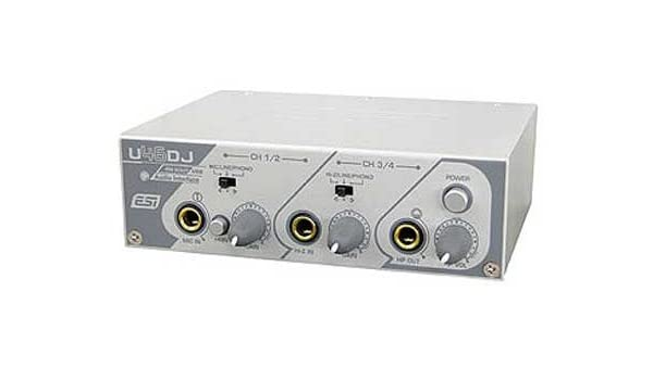 ESI U46DJ Audio Interface 64Bit
