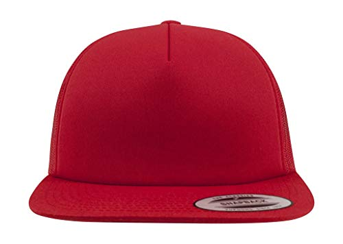 Foam Gorra Yupoong Red Size One 6005FF wrr0dxqOT