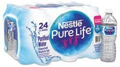 24-Pack Nestle Pure Life Purified Water, 16.9 fl oz