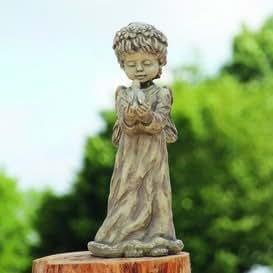Gartentraum.de Decoración Jardín Figura & Piedra Figura con ángel