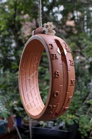 Anno Domini Garden Sundial Hanging Ring by SHEPHERD'S WATCH LTD