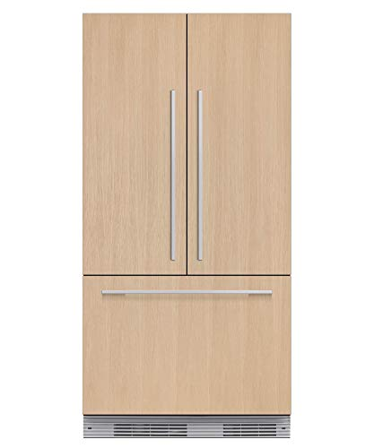 Fisher Paykel RS36A72J1 36″ Star K Energy Star Built-In French Door Refrigerator with 16.8 cu. ft. Capacity 72″ Tall ActiveSmart Foodcare Adaptive Defrost Fast Freeze and LED Lights: Panel
