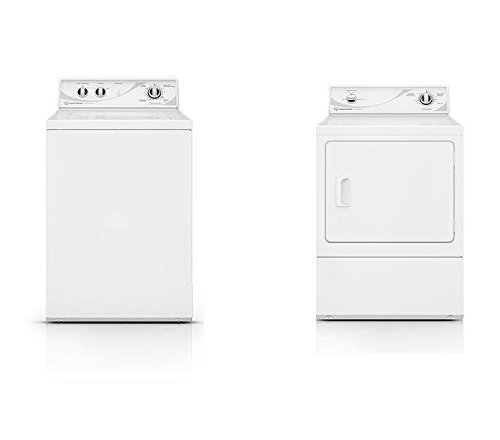 Speed Queen AWN432SP Top Load Washer and Speed Queen ADE3SRGS Electric Dryer Bundle