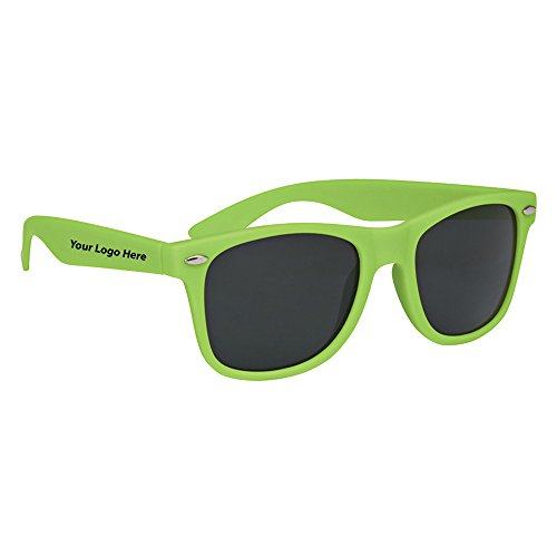 Velvet Touch Malibu Sunglasses - 130 Quantity - $2.95 Each - PROMOTIONAL PRODUCT / BULK / BRANDED with YOUR LOGO / - Sunglasses Promotional Rubberized