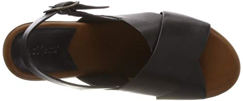 noir Victoriane Mujer De Negro 82 Para Punta Descubierta Sandalias Kickers w8qgdZZ
