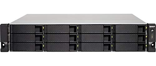 QNAP Business HE TS-1273U-RP-8G TS-1273U-RP, Unidad DE Disco Duro, SSD, M.2, Serial ATA III, 2.5/3.5'', 0, 1, 5, 6, 10, JBOD, FAT32,HFS+,NTFS,EXFAT,EXT3,EXT4, 2,1 GHz
