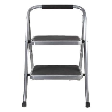 Enjoyable Amazon Com Helping Hand 2 Step Stool With Foam Grip Handle Inzonedesignstudio Interior Chair Design Inzonedesignstudiocom