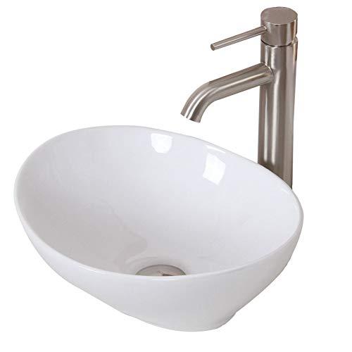 ELITE-Bathroom-Egg-White-Ceramic-Porcelain-Vessel-Sink-Brushed-Nickel-Faucet-Combo-for-Vanity