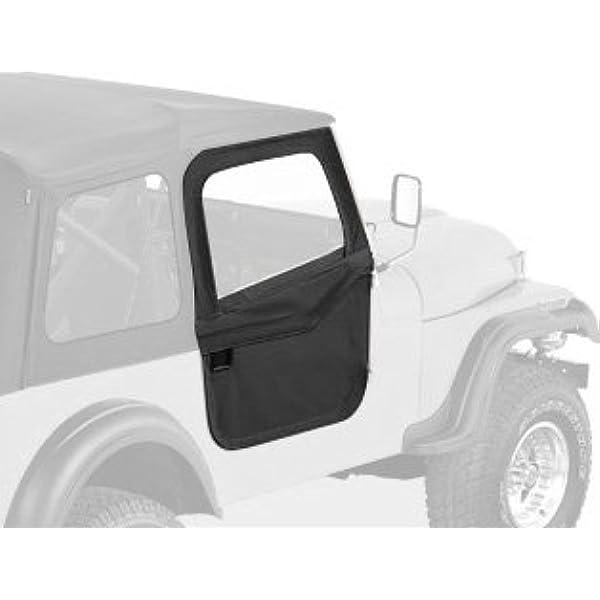 New For Jeep Cj5 Cj7 Cj8 76-86 Interior Windshield Knob Black  X 13318.01