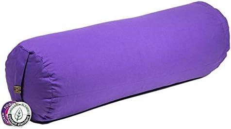 ManiBhadra Yoga Bolster cil/índrica p/úrpura
