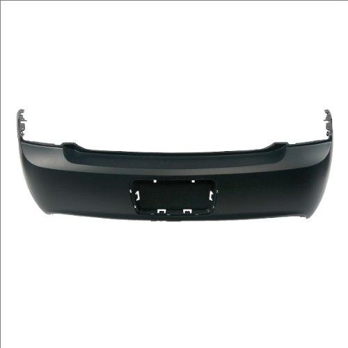 CarPartsDepot, Rear Bumper Cover Assembly New Primed Black Plastic Unpainted, 352-15612-20-PM GM1100816 -