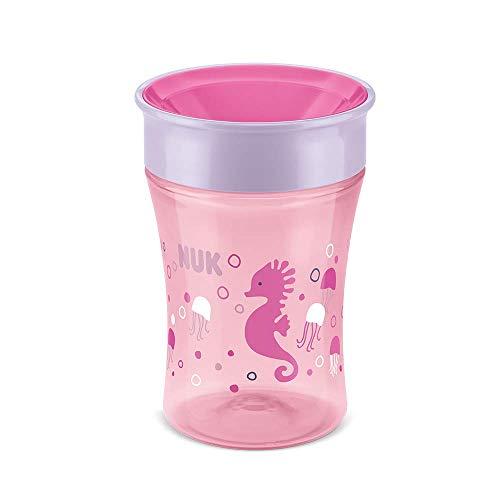 Copo Antivazamento 360º NUK Magic Cup - NUK, Rosa