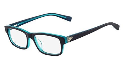 Eyeglasses NIKE 5518 470 NAVY/HYPER - Womens Eyeglasses Nike
