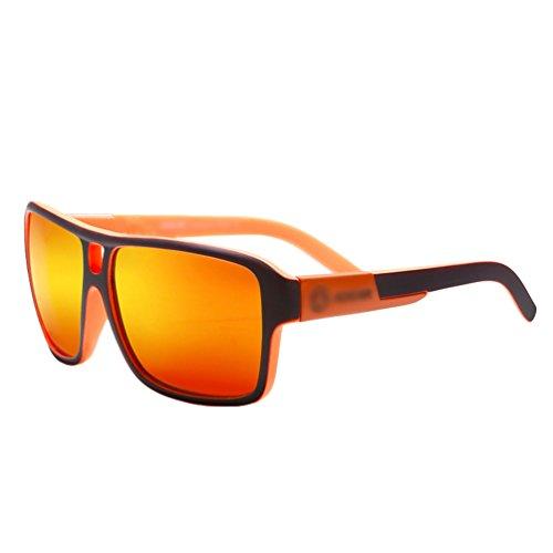 Lvguang Sunglasses Hommes Sport Style Lentille Soleil Lunettes 4 Sportif de Goggle Polarisé avec Grande Protection rwrqd0p1Sx