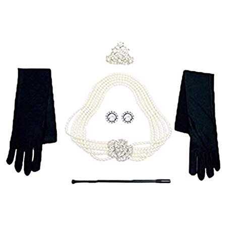 Holly Golightly Costume - Utopiat Costume Jewelry and Accessory Set,