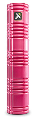 TriggerPoint GRID Foam Roller with Free Online Instructional Videos, 2.0 (26-inch), Pink