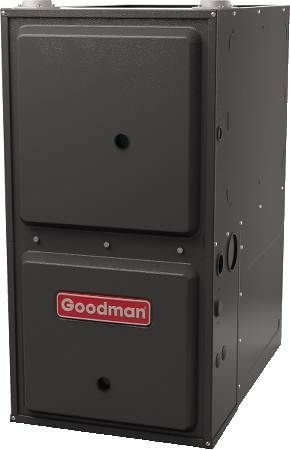 - Goodman 80 000 BTU 96% Efficient Down-Flow Gas Furnace GCSS960804CN - with LP conversion Kit