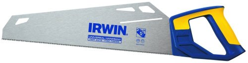 6 Pack Irwin 1773465 15'' x 11-TPI Universal Crosscut Handsaw Fast Cut Design by American Tool Exchange