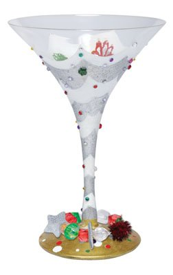 Lolita - Martini Glass - Another Tipsy Christmas by Santa Barbara - GLS4-5565A