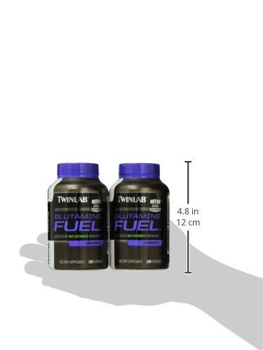 Twinlab Glutamine Fuel, 120 Capsules (Pack of 2) by Twinlab (Image #6)