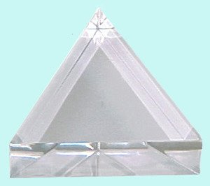 SEOH Prism Acrylic Equilateral 75mm x 25mm Light - Equilateral Acrylic Prism