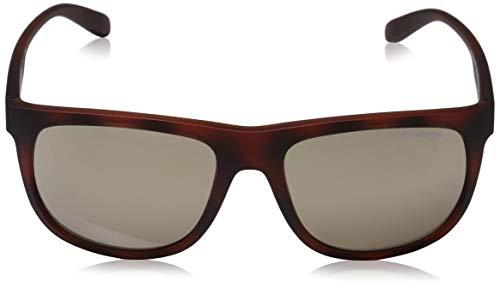 Marron AN4235 GRIND Lightbrownmirrordarkgold Brown Matte Arnette Dark Sonnenbrille CROOKED Havana wqIxTO