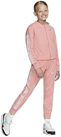 Nike Chándal Niña Sportswear Rosa BV2769-697: Amazon.es: Ropa y ...