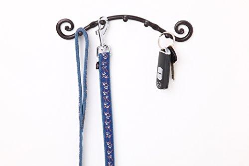 5 Hook Key Holder | Wall Mounted Hanger | Wrought Iron Key Rack Handmade by RTZEN-Décor by RTZEN (Image #5)