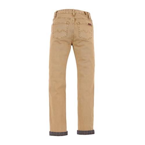 7 For All Mankind Kids Mens Stretch Twill Slimmy Pants In Khaki (Big Kids)