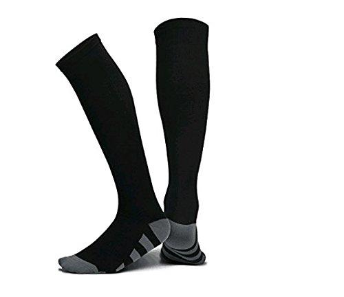 (Compression Socks(20-30 mmHg) for Men Women, for Running, Pregnancy, Flight, Travel, Nursing, Boost Stamina, Speed Up Recovery, Better Blood Circulation, Blue,1 Pair (XL))