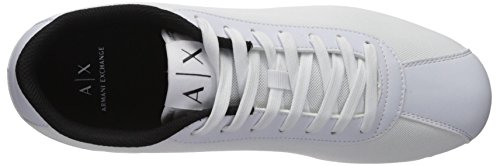White Armani Exchange A Armani Logo Sneaker Men Exchange X qx8Swf
